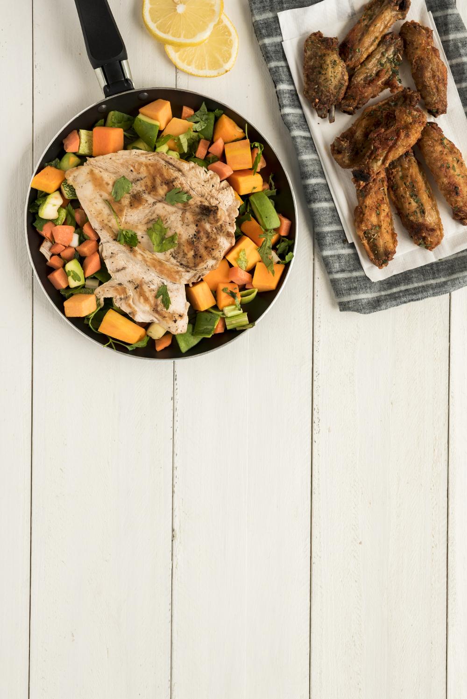 légumes cuisinés surgelés (à la plancha)